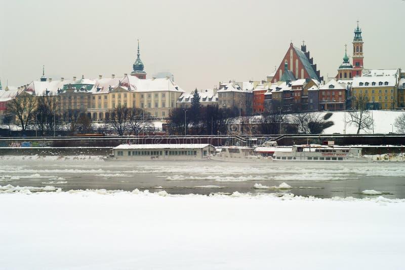 Παλαιά πόλη της Βαρσοβίας και το βασιλικό Castle στοκ εικόνες
