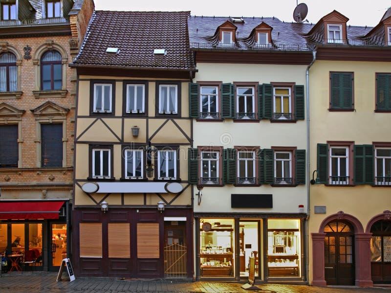Παλαιά πόλη του Βισμπάντεν Γερμανία στοκ φωτογραφία με δικαίωμα ελεύθερης χρήσης