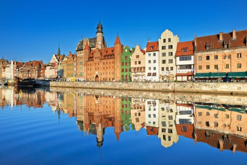 Παλαιά πόλη του Γντανσκ, Πολωνία στοκ φωτογραφίες