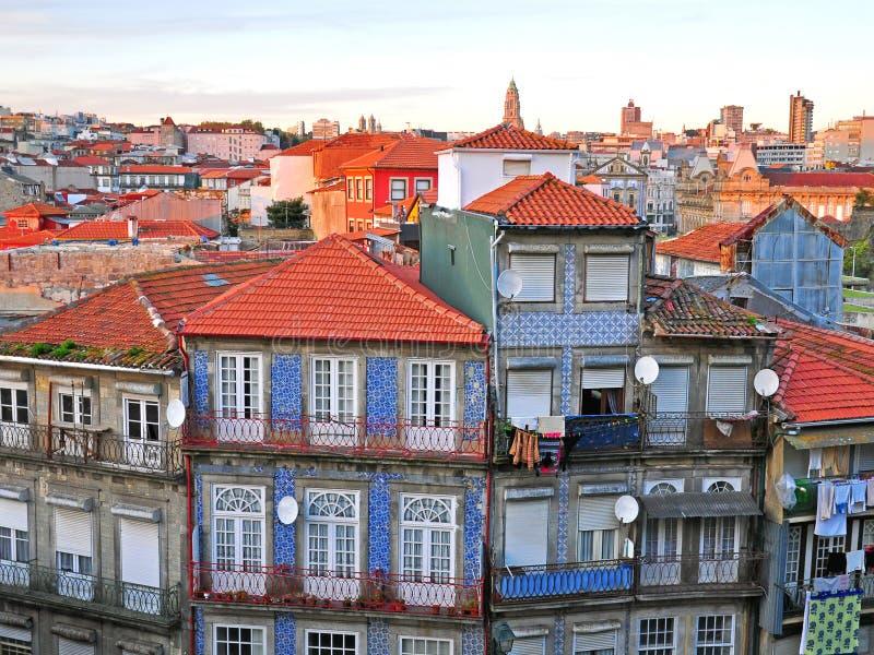 Παλαιά πόλη του Οπόρτο στοκ εικόνα με δικαίωμα ελεύθερης χρήσης