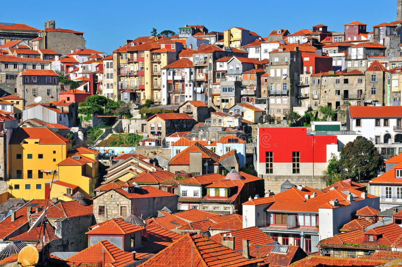 Παλαιά πόλη του Οπόρτο στοκ φωτογραφία με δικαίωμα ελεύθερης χρήσης