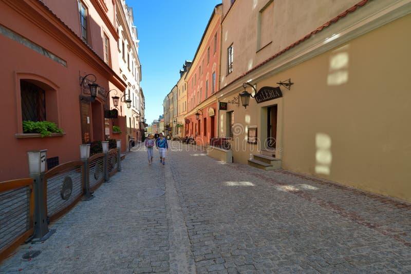 Παλαιά πόλη του Lublin. Πόλη στην Πολωνία. στοκ φωτογραφίες με δικαίωμα ελεύθερης χρήσης