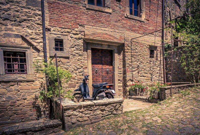 Παλαιά πόλη Cortona στην Τοσκάνη στοκ φωτογραφία με δικαίωμα ελεύθερης χρήσης