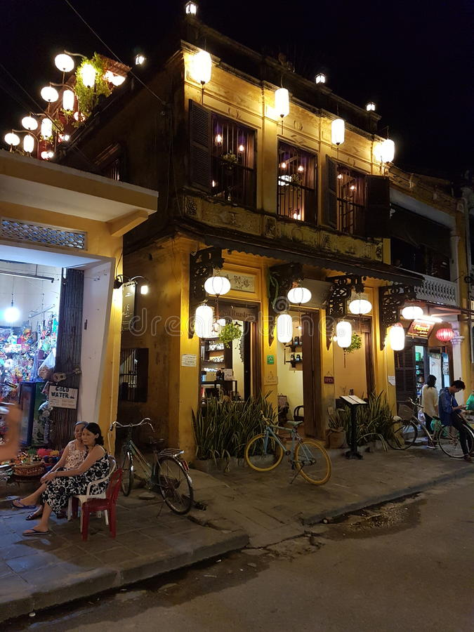 Παλαιά πόλη Hoian - Βιετνάμ στοκ εικόνες