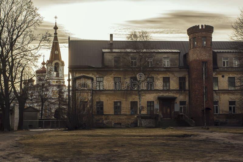 Παλαιά πόλη Liepaja της Λετονίας στοκ εικόνες