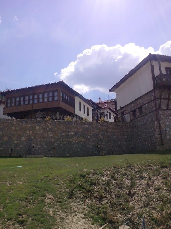 παλαιά πόλη skopje Μακεδονία στοκ φωτογραφία με δικαίωμα ελεύθερης χρήσης