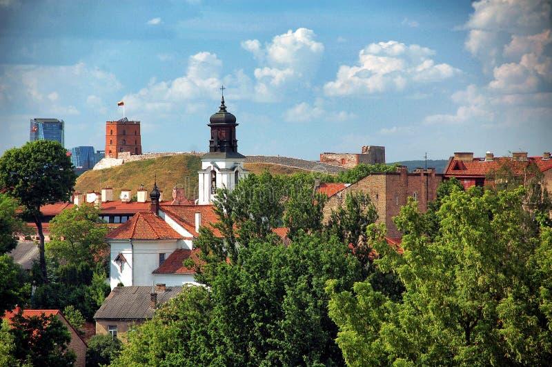 Παλαιά πόλη Vilnius το καλοκαίρι στοκ εικόνα με δικαίωμα ελεύθερης χρήσης