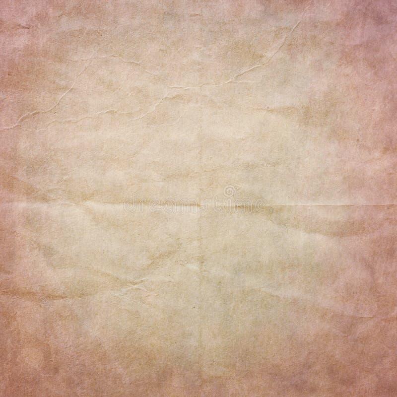 Παλαιά ρόδινη σύσταση εγγράφου στοκ φωτογραφία με δικαίωμα ελεύθερης χρήσης
