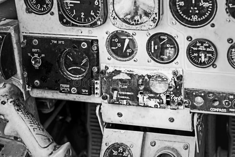 Παλαιά συσκευή στο πειραματικό πιλοτήριο στοκ φωτογραφία