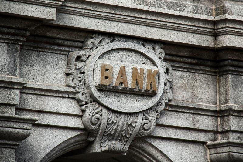 Παλαιά τράπεζα στοκ φωτογραφία