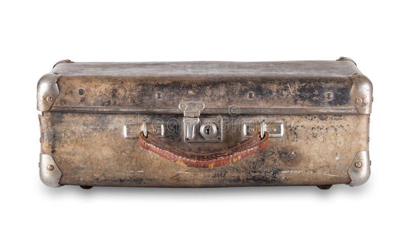 Παλαιά φορεμένη βαλίτσα στοκ φωτογραφία με δικαίωμα ελεύθερης χρήσης