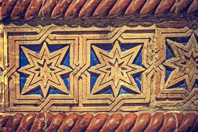 Παλαιά φωτογραφία με τη λεπτομέρεια προσόψεων μιας συναγωγής τετραγωνική ένωση timisoara 02 Ρουμ& στοκ εικόνα