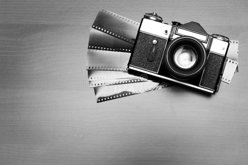παλαιά φωτογραφία φωτογραφικών μηχανών στοκ φωτογραφία