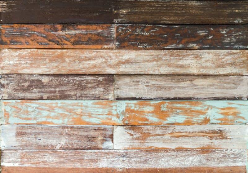 Παλαιά χρωματισμένη ξύλινη σύσταση τοίχων στοκ φωτογραφίες