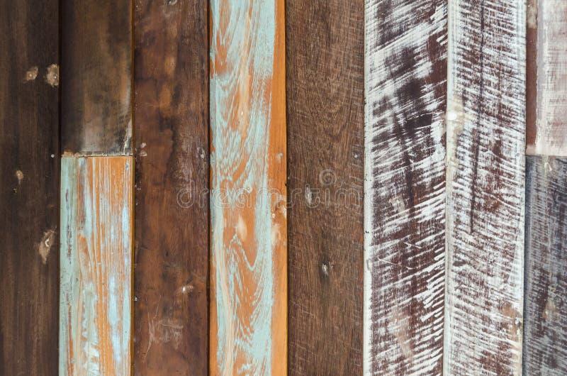 Παλαιά χρωματισμένη ξύλινη σύσταση τοίχων στοκ φωτογραφία με δικαίωμα ελεύθερης χρήσης