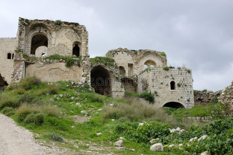 Παλαιές καταστροφές Mirabel Castle στοκ φωτογραφίες με δικαίωμα ελεύθερης χρήσης