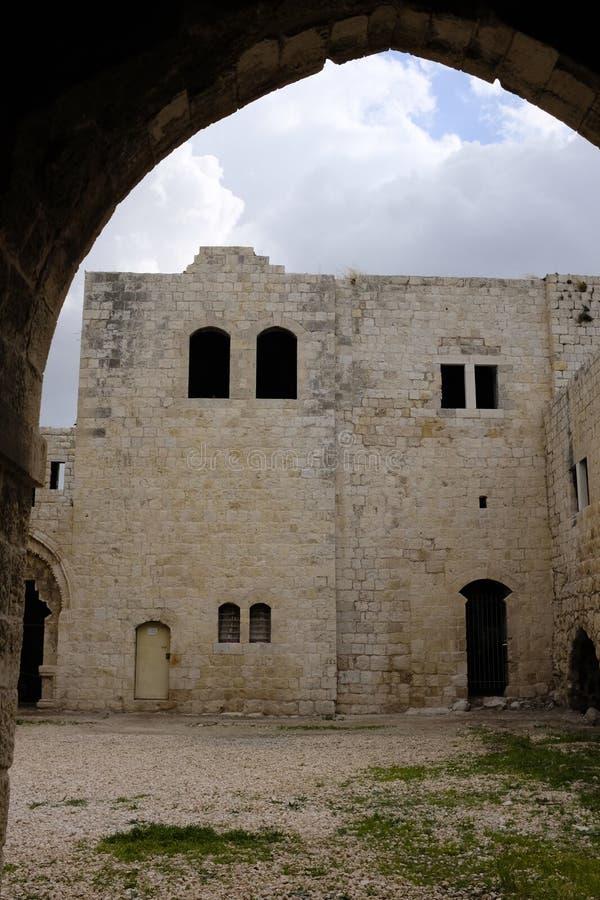 Παλαιές καταστροφές Mirabel Castle στοκ εικόνες με δικαίωμα ελεύθερης χρήσης