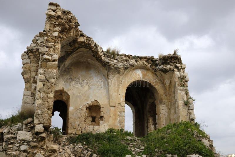 Παλαιές καταστροφές Mirabel Castle στοκ εικόνα με δικαίωμα ελεύθερης χρήσης