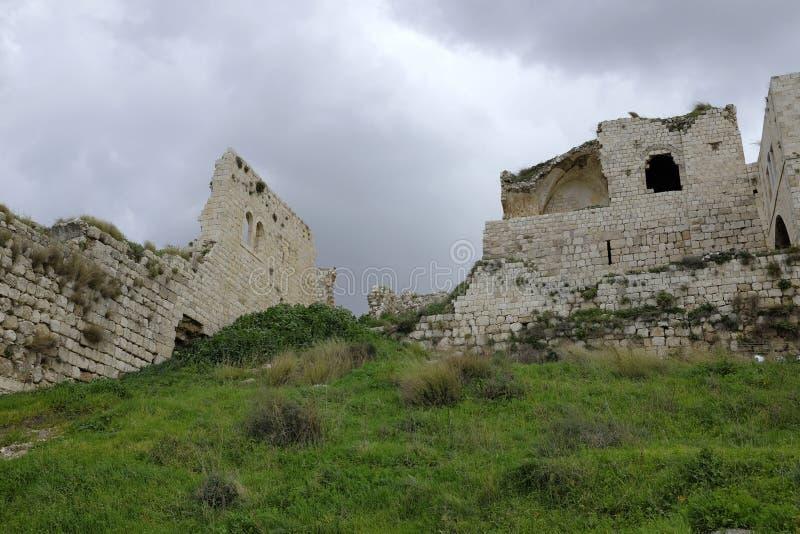 Παλαιές καταστροφές Mirabel Castle στοκ φωτογραφία