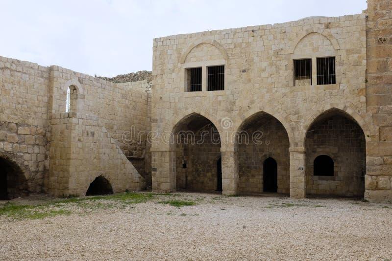 Παλαιές καταστροφές Mirabel Castle στοκ εικόνα