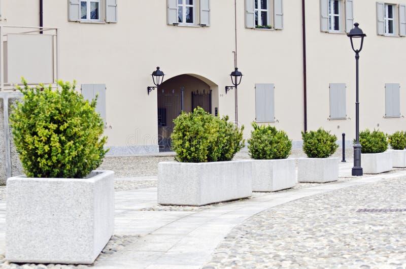 Παλαιές οδοί της Ιταλίας στοκ φωτογραφία