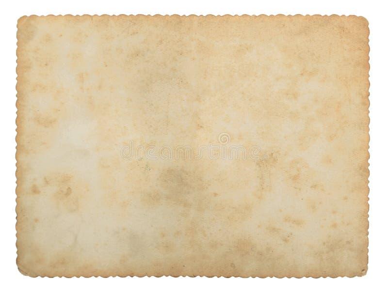 παλαιές συστάσεις εγγράφου στοκ εικόνα