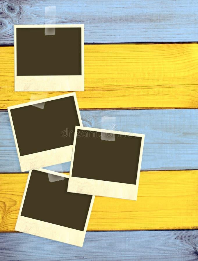 Παλαιές φωτογραφίες Στοκ Εικόνα