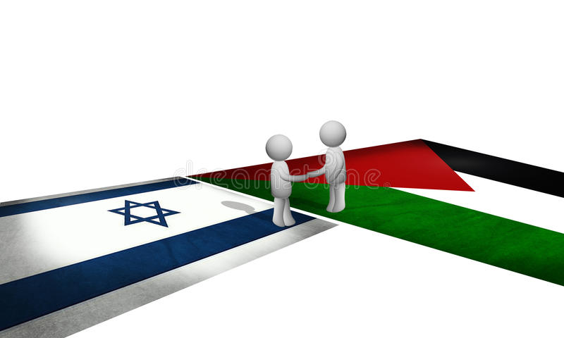 Παλαιστίνη και Ισραήλ στοκ εικόνες με δικαίωμα ελεύθερης χρήσης