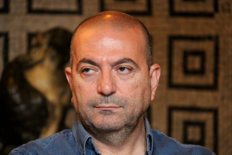 Παλαιστινιακός διευθυντής του abu-Assad Hany στοκ εικόνα με δικαίωμα ελεύθερης χρήσης