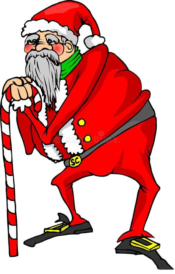 Παλαιός Άγιος Βασίλης απεικόνιση αποθεμάτων