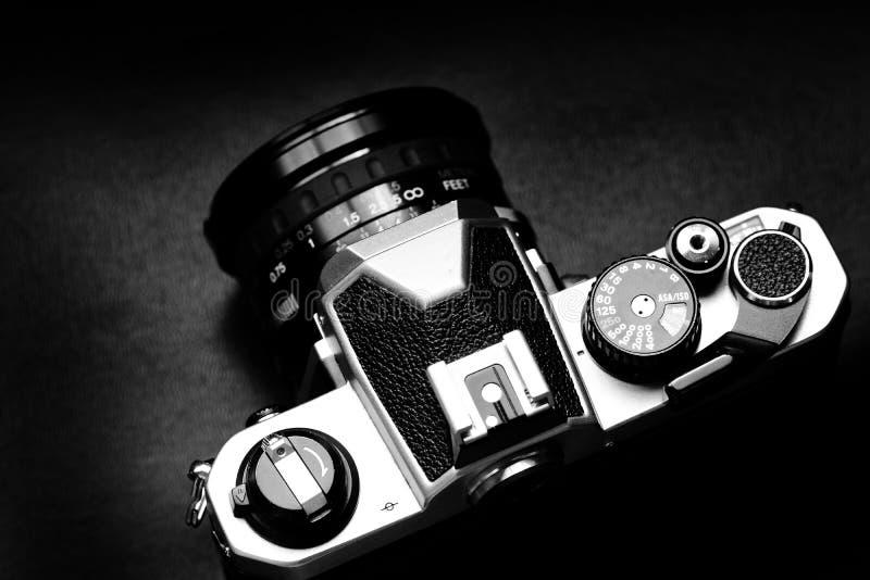 Παλαιός εκλεκτής ποιότητας φακός εστίασης ταινιών χειρωνακτικός για τη κάμερα στοκ φωτογραφία με δικαίωμα ελεύθερης χρήσης