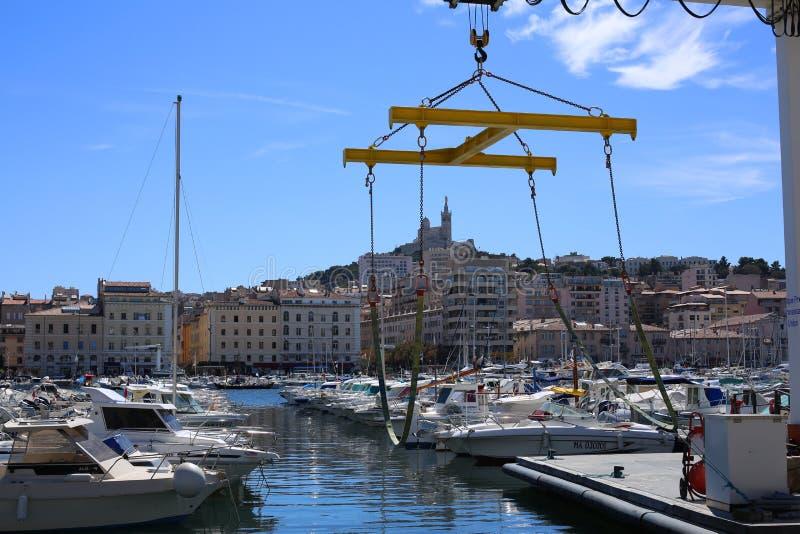 Παλαιός λιμένας της Μασσαλίας στοκ φωτογραφία