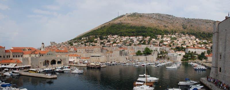 Παλαιός λιμένας Dubrovnik στοκ εικόνα με δικαίωμα ελεύθερης χρήσης