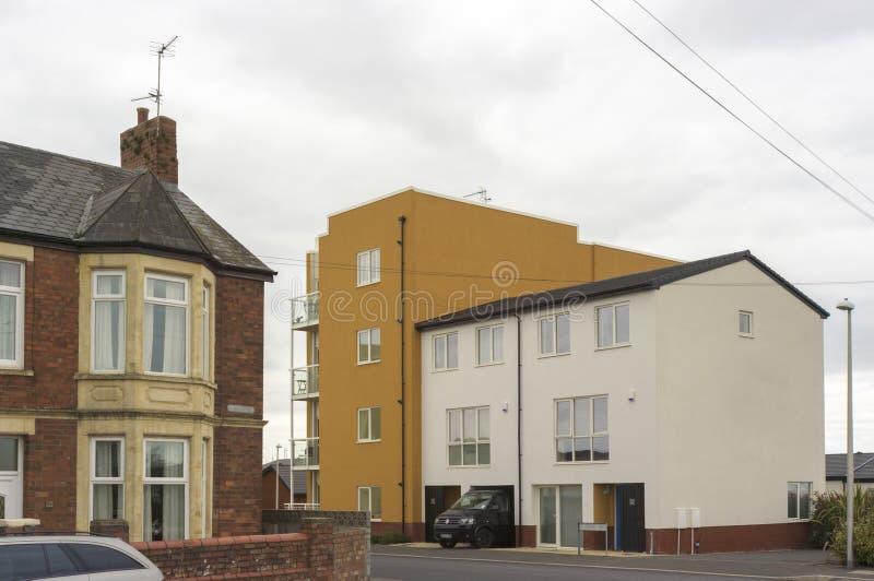 Παλαιός και ο νέος - σύγχρονο αστικό τοπίο, UK στοκ εικόνες με δικαίωμα ελεύθερης χρήσης