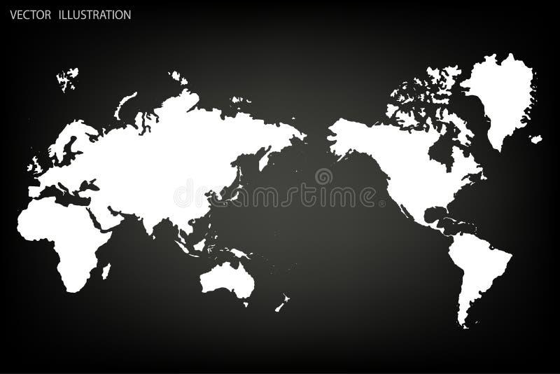 Παλαιός Κόσμος χαρτών απεικόνισης απεικόνιση αποθεμάτων
