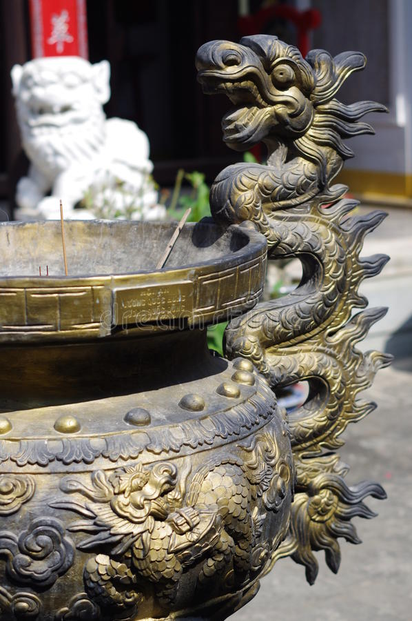 Παλαιός ναός σε Hoi στοκ φωτογραφία με δικαίωμα ελεύθερης χρήσης