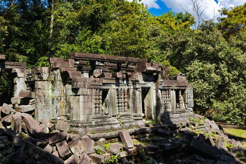 Παλαιός ναός Beng Mealea στοκ φωτογραφία με δικαίωμα ελεύθερης χρήσης