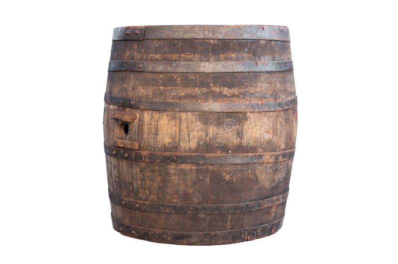 παλαιός ξύλινος βαρελιών στοκ φωτογραφίες με δικαίωμα ελεύθερης χρήσης