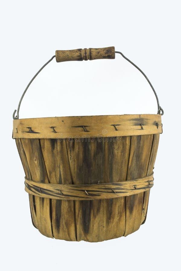 Παλαιός ξύλινος κάδος, στοκ εικόνα