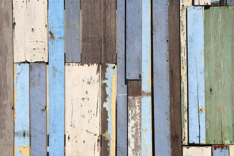 Παλαιός ξύλινος φράκτης απεικόνιση αποθεμάτων