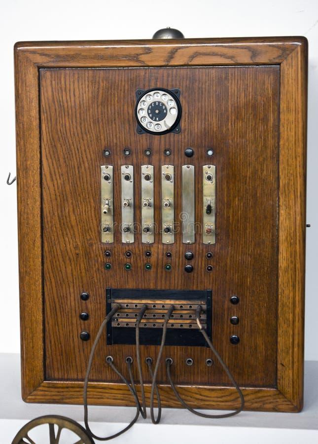 Παλαιός πίνακας τηλεφωνητών στοκ φωτογραφίες με δικαίωμα ελεύθερης χρήσης