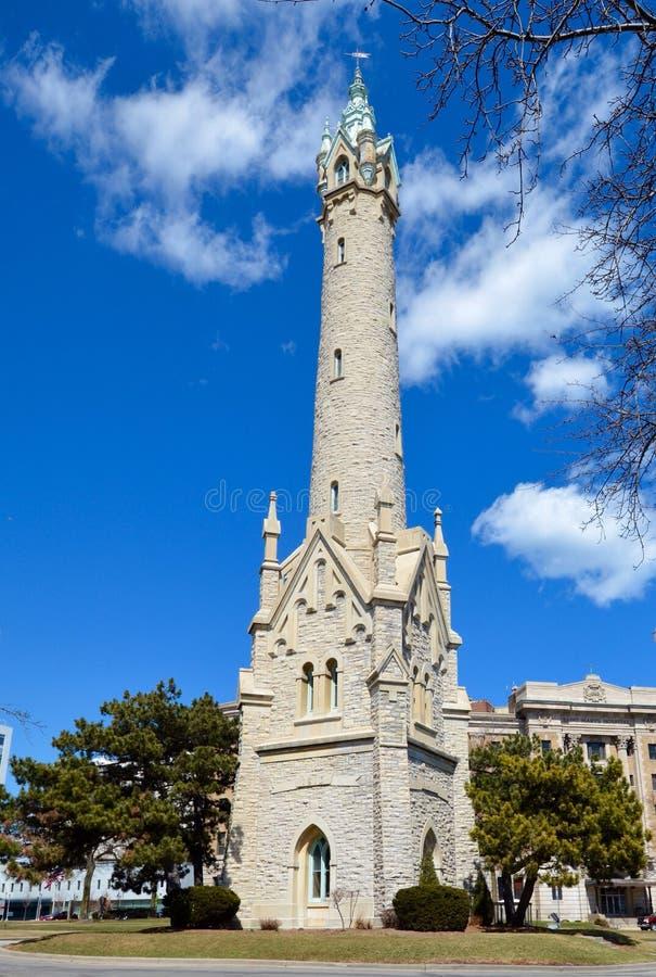 Παλαιός πύργος νερού βόρειου σημείου στοκ εικόνα με δικαίωμα ελεύθερης χρήσης