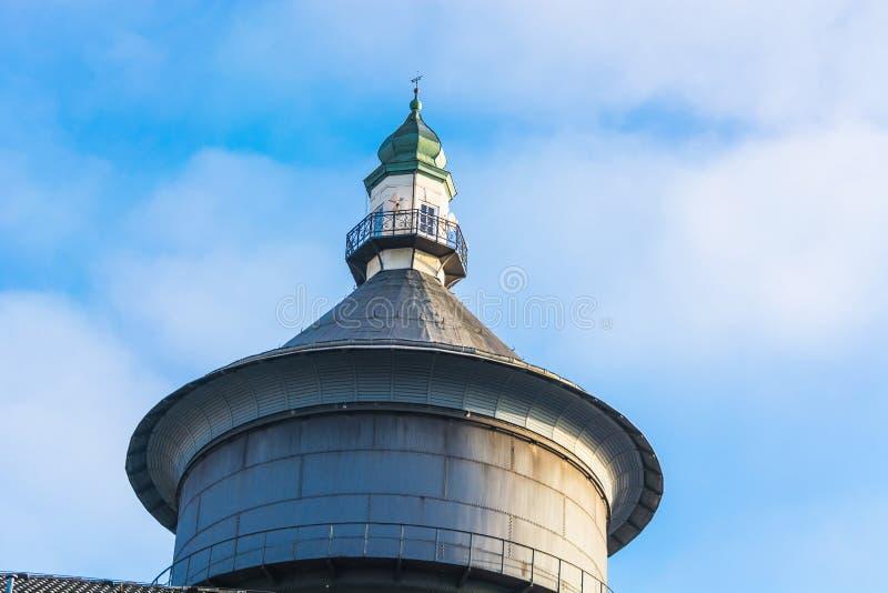 Παλαιός πύργος νερού σε Velbert, Γερμανία στοκ εικόνες