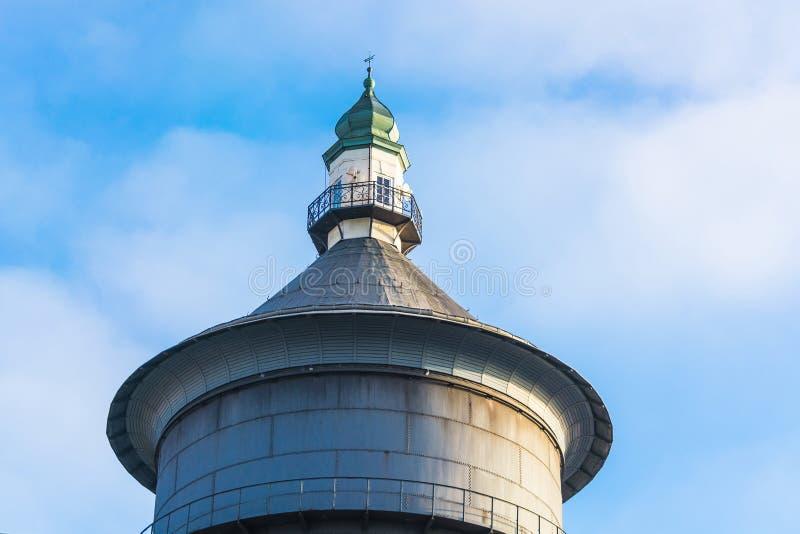 Παλαιός πύργος νερού σε Velbert, Γερμανία στοκ εικόνα με δικαίωμα ελεύθερης χρήσης