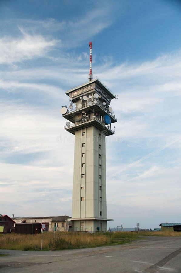 Παλαιός πύργος τηλεπικοινωνιών Στοκ Εικόνες