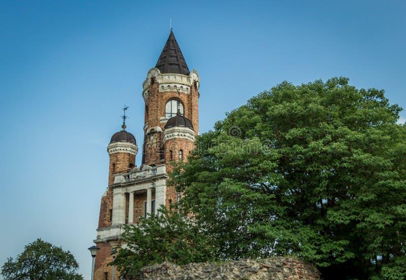 Παλαιός πύργος Gardos σε Zemun, Βελιγράδι στοκ φωτογραφίες