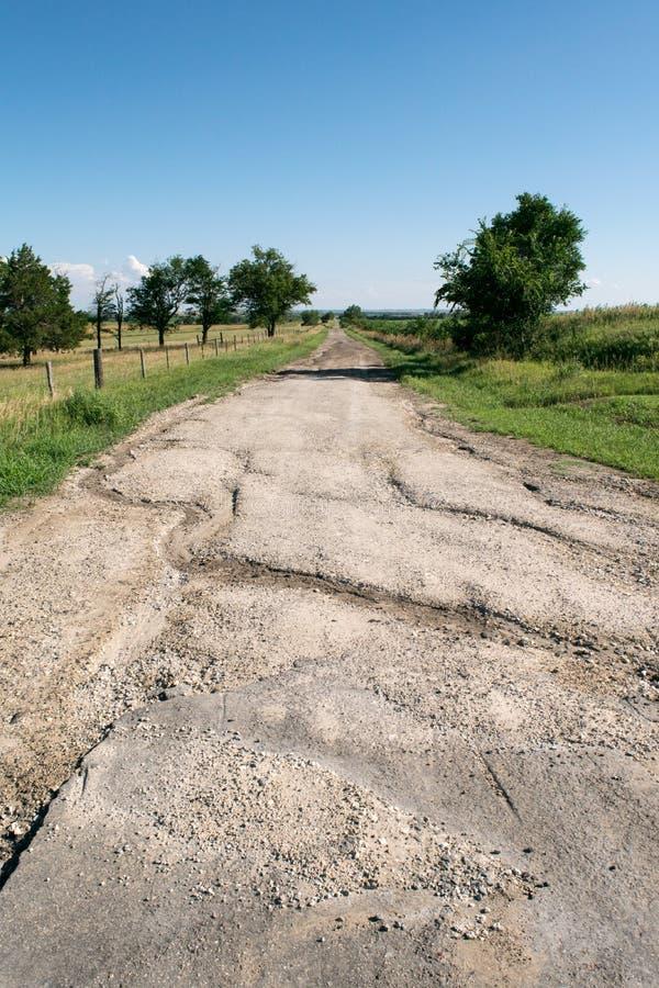 Παλαιός δρόμος αμμοχάλικου στοκ φωτογραφία με δικαίωμα ελεύθερης χρήσης