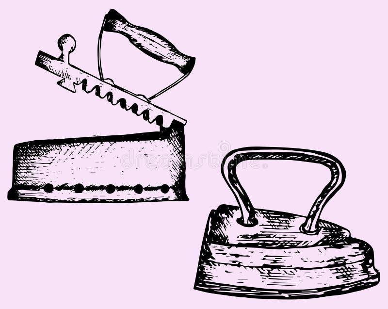 Παλαιός σίδηρος ελεύθερη απεικόνιση δικαιώματος