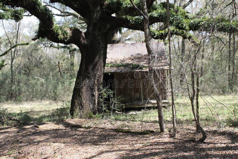 Παλαιός σπίτι δωματίων στοκ εικόνα