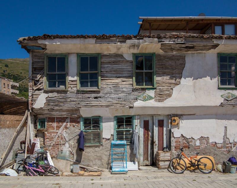 παλαιός σπιτιών που κατα&sigm στοκ εικόνες